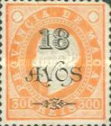 [Issues of 1884-1894 Surcharged, Typ AA17]