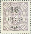 [Issues of 1884-1894 Surcharged, Typ AA19]