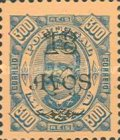 [Issues of 1884-1894 Surcharged, Typ AA23]