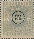 [Crown - No. 7 Overprinted, Typ B1]