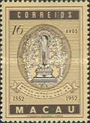 [The 400th Anniversary of the Death of St. Francis Xavier, 1506-1552, Typ CF]