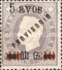 [King Louis I of Portugal - As No. 44 & 44A Overprinted