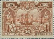 [The 400th Anniversary of the Discovery of Sea Route to India, type W]