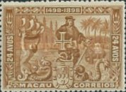 [The 400th Anniversary of the Discovery of Sea Route to India, type X]