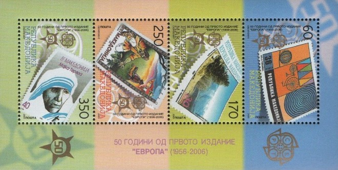 [The 50th Anniversary EUROPA Stamps, 1956-2005, type ]
