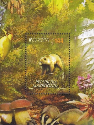 [EUROPA Stamps - Think Green, type ]