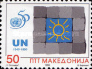 [The 50th Anniversary of UN, type AY]