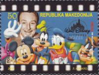 [The 50th Anniversary of the Death of Walt Disney, 1901-1966, type BAC]