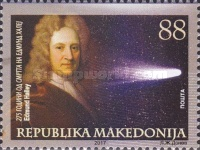 [The 275th Anniversary of the Death of Edmond Halley, 1656-1742, type BAR]