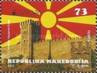 [EUROPA Stamps -  Palaces and Castles, type BAV]
