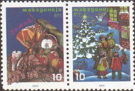 [Christmas Stamps, type BV]