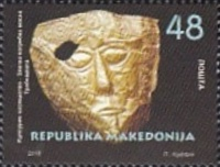 [Cultural Heritage - Golden Funeral Mask, type CAC]