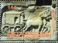 [EUROPA Stamps - Ancient Postal Routes, Typ CFJ]