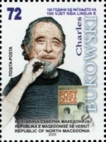 [The 100th Anniversary of the Birth of Charles Bukowski, 1920-1994, type CFO]