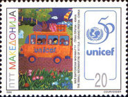 [The 50th Anniversary of UNICEF and UNESCO, type CG]