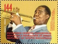 [The 50th Anniversary of the Death of Louis Armstrong, 1901-1971, type CHJ]