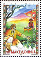 [EUROPA Stamps - Tales and Legends, type CS]