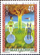 [EUROPA Stamps - Tales and Legends, type CT]