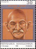 [The 50th Anniversary of the Death of Mahatma Gandhi, type DC]