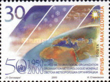 [The 50th Anniversary of WMO, type GG]