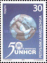 [The 50th Anniversary of UNHCR, type HA]