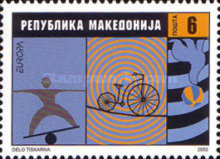 [EUROPA Stamps - The Circus, type IQ]