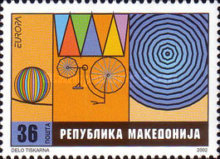 [EUROPA Stamps - The Circus, type IR]