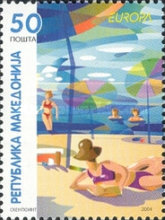 [EUROPA Stamps - Holidays, type KV]