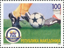 [The 100th Anniversary of FIFA, type LC]