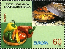 [EUROPA Stamps - Gastronomy, type LZ]