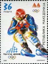 [Winter Olympic Games - Turin, Italy, type MV]