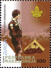 [EUROPA Stamps - The 100th Anniversary of Scouting, type OR]