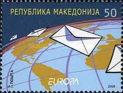 [EUROPA Stamps - Writing Letters, type PR]