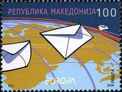 [EUROPA Stamps - Writing Letters, type PS]