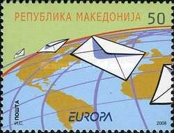[EUROPA Stamps - Writing Letters, type PT]