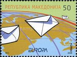 [EUROPA Stamps - Writing Letters, type PU]