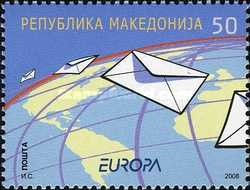 [EUROPA Stamps - Writing Letters, type PV]