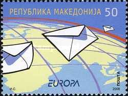 [EUROPA Stamps - Writing Letters, type PW]