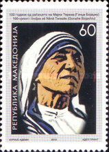 [The 100th Anniversary of the Birth of Mother Teresa, 1910-1997, type SZ]