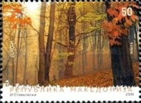 [EUROPA Stamps - The Forest, type UB]