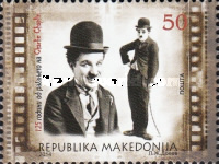 [The 125th Anniversary (2014) of the Birth of Charlie Chaplin, 1889-1977, type ZF]