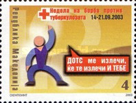 [Red Cross - Fight Against Tuberculosis Week, type DQ]