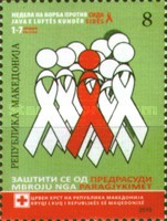 [Red Cross - Fight Against AIDS Week, type EU]