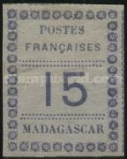 [Value Stamps - Printed on Colored Paper, type E2]