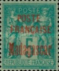 [French Postage Stamps Overprinted