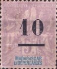 [No. 38, 42 & 40 Surcharged, type I1]