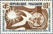 [The 10th Anniversary of the Declaration of Human Rights by the United Nations, type JU]