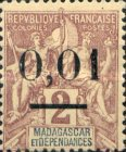 [Issue of 1896 Surcharged -