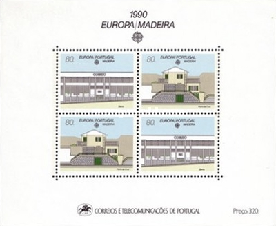 [EUROPA Stamps - Post Offices, Typ ]
