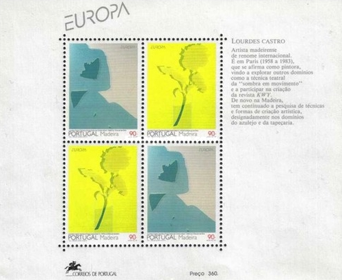 [EUROPA Stamps - Contemporary Art, Typ ]